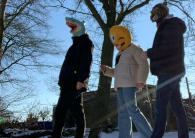 Masked trippers